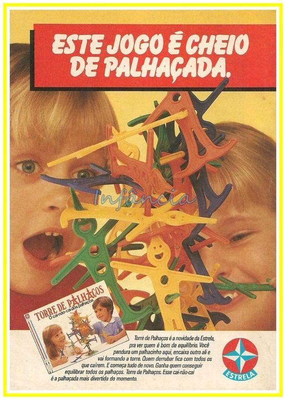 Jogo Torre de Palhaços #nostalgia