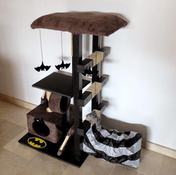 C mo hacer un juguete rascador para gatos for Muebles mato colloto