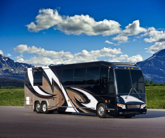 Marathon Show Coach 1219 Was Converted On A Prevost H3 45