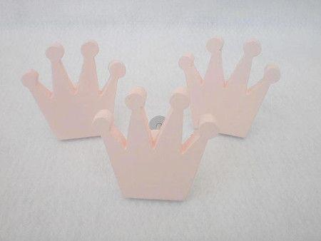 Puxador coroa da Sapatinho de Algodão Baby
