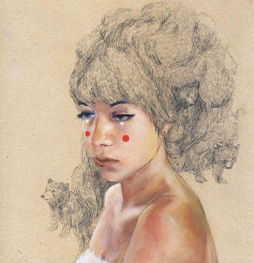 Bears in her Hair by Charmaine Olivia