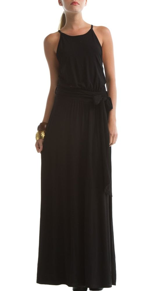Black Luna Dress by Eco Skin