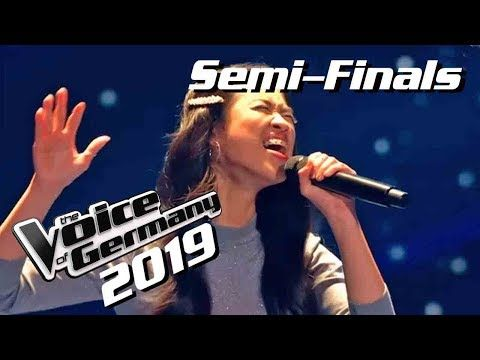Beyonce Listen Claudia Emmanuela Santoso The Voice Of Germany 2019 Semi Finals Youtube