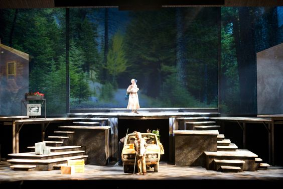Lillian Alling. Banff Centre Theatre Arts. Scenic design by Sue LePage. 2011