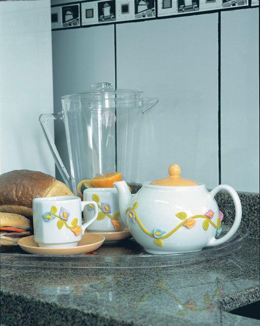 Jogo de chá de biscuit
