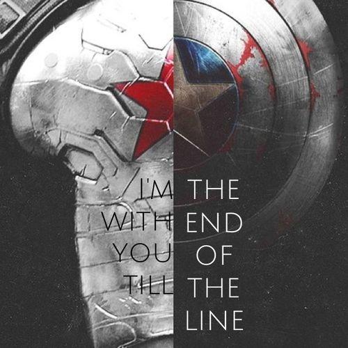 Buckey and Captain America