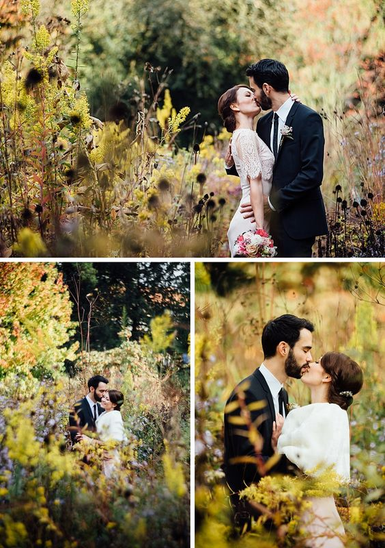 Anastasia & Christoph: Standesamtliche Hochzeit in Weinheim im goldenen Herbst
