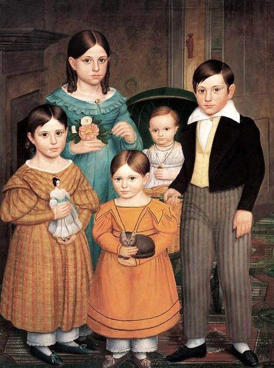 It's About Time 1841 Attributed to Robert Peckham (American artist, 1785–1877) Fitchburg, Massachusetts