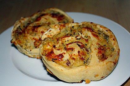 Kartoffel - Schinken - Schnecken, ein raffiniertes Rezept aus der Kategorie Frühstück. Bewertungen: 8. Durchschnitt: Ø 3,9.
