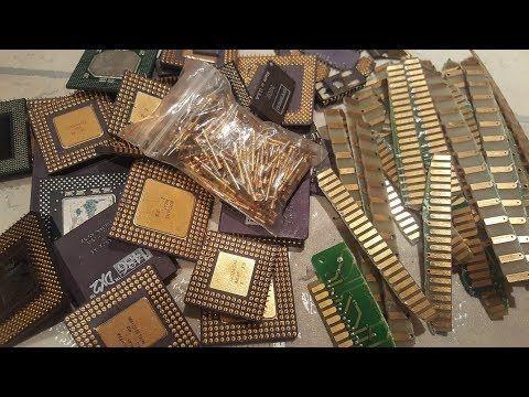 Materiales Para Recuperar Oro Nuevo Lote Youtube Oro Metales Preciosos Reciclaje