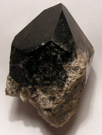 morion is a name used for smoky quartz that is