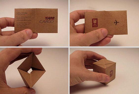 AM Cargo: Transformable Business Card [Y] São Paulo, Brazil