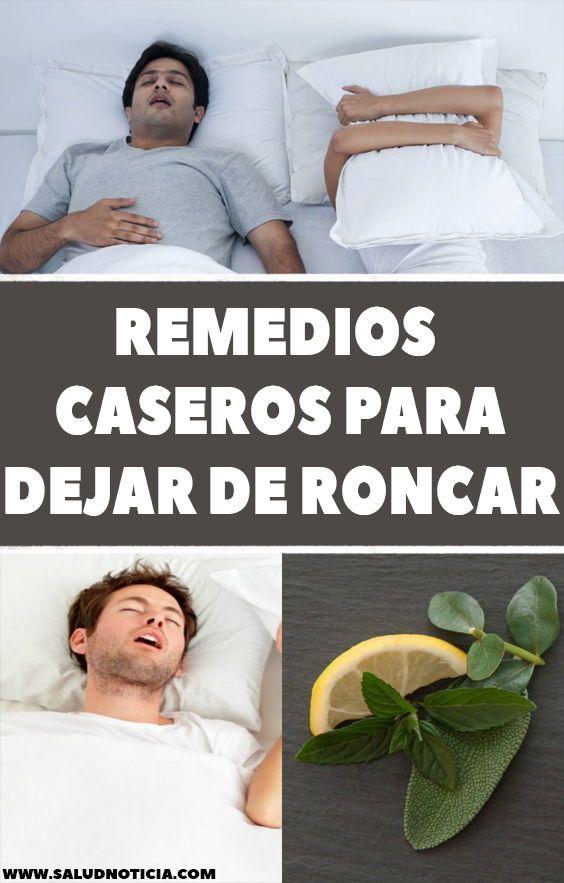 Como Dejar De Roncar Remedios Caseros Remedios Caseros Para Dejar De Roncar Remedios Caseros Recetas