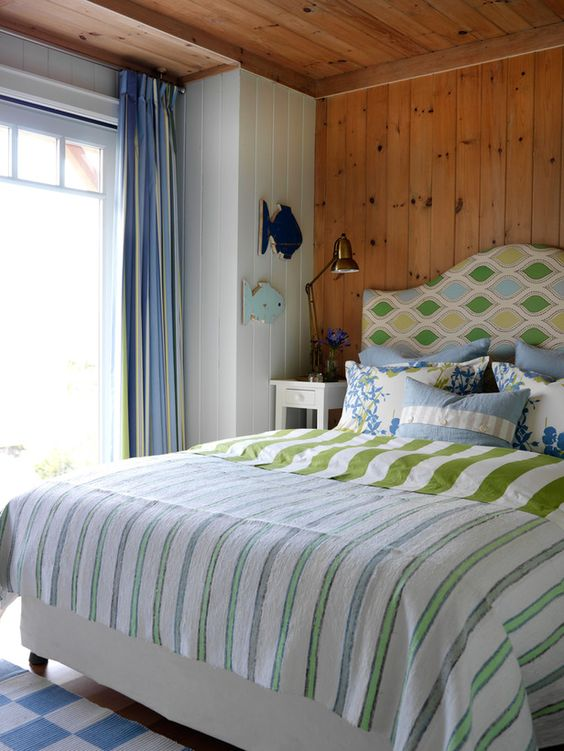 Sarah's Summer House Bedroom....Love it.