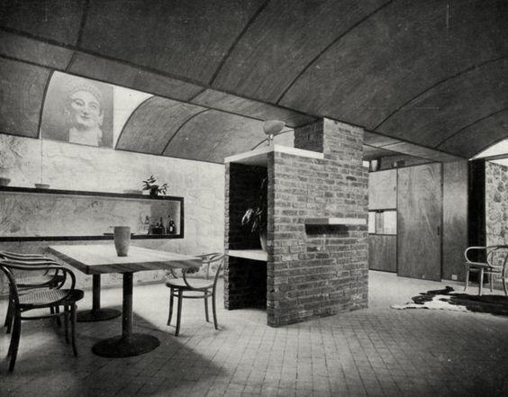 le corbusier le petite maison de weekend villa henfel 1935 arquit moderna pinterest. Black Bedroom Furniture Sets. Home Design Ideas