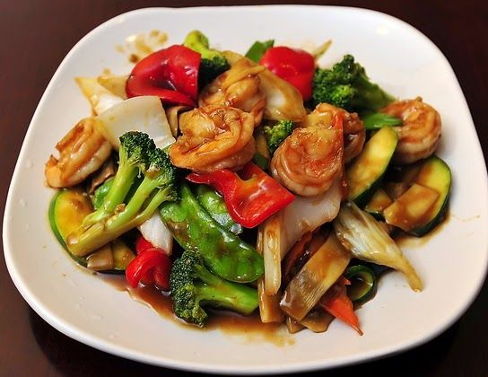 Authentic Asian Recipes Chicken With Mixed Vegetables Recipe