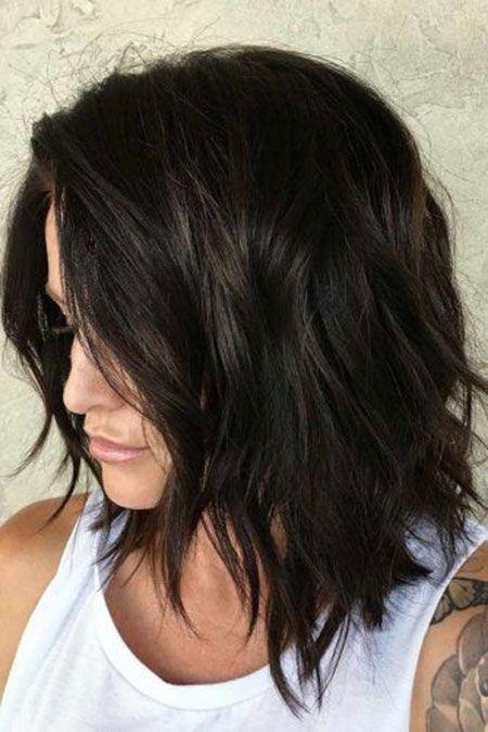 25 Bob Frisuren Für Dickes Haar Hairs Frisur Dicke Haare