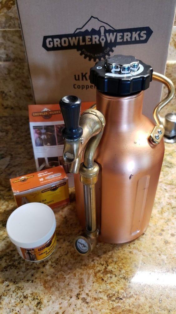 Copper uKeg 64 Pressurized Growler