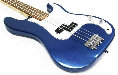 real electric bass as centerpiece + then donate