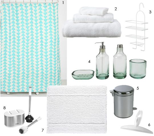 8 affordable essentials for a first bathroom bathroom for Bathroom essentials set