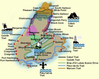 Cape Breton Island, Nova Scotia, accommodations, lodging, real estate, travel information, Cabot Trail, businesses, Cape Breton Showcase