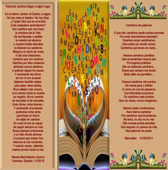 Todos os caminhos... Dueto com Marsoalex e suas artes- Obrigada!! - Encontro de Poetas e Amigos