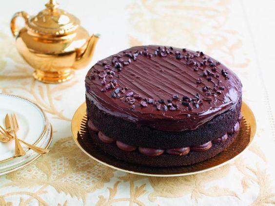 Eric Lanlard's Afternoon Tea and gluten-free chocolate cake recipe