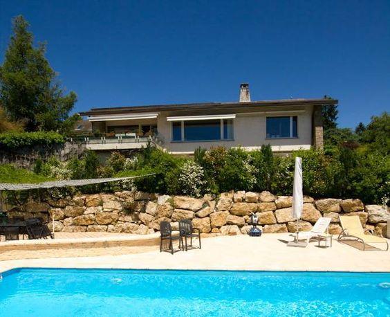 Lausanne-Chailly, villa avec piscine