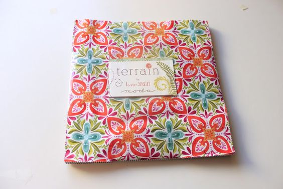 "Layer cake ""Terrain"" de Kate Spain para Moda fabrics"