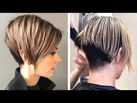12 Amazing Pixie Haircut Tutorial By Professional Trendy Short Hairstyles 2020 Grwm Compilation Youtube Short Hair Styles Short Hair Haircuts Pixie Haircut