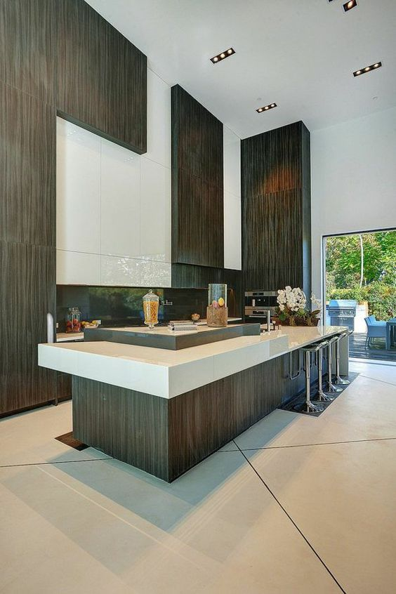 k chen mit kochinsel k chenblock freistehend interieur. Black Bedroom Furniture Sets. Home Design Ideas