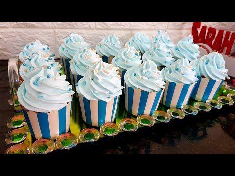 كاب كيك ب زوج بيضات فقط أكثر من 20 حبة محشي بالمربى هش و خفيف لكل مناسباتكم و أفراحكم Youtube Cap Cake Desserts Cake
