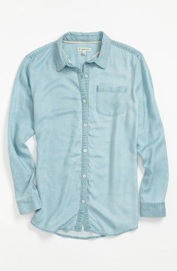 Tucker + Tate 'Nikki' Button Down Top (Big Girls) available at #Nordstrom
