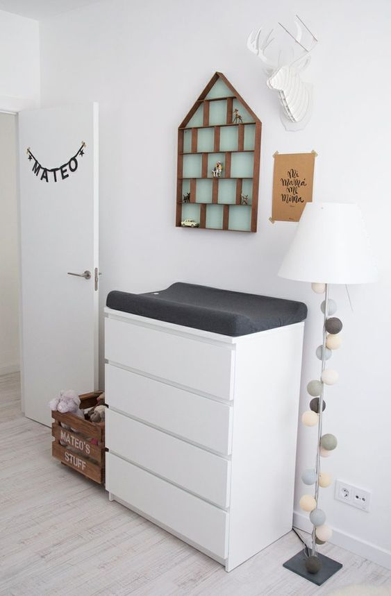 rutiliser notre commode pour matelas langer pour bb mommo design ikea hacks in the - Chambre Bebe Ikea