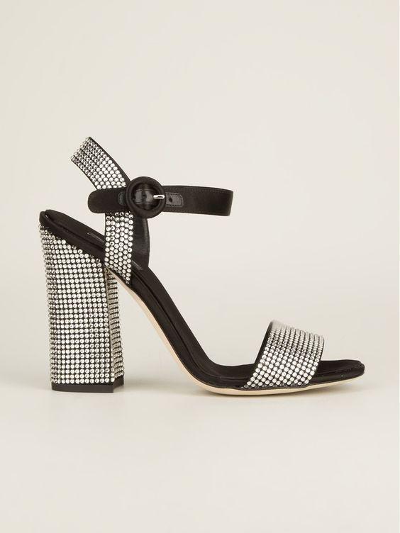Dolce & Gabbana Sandália Preta - Stefania Mode - Farfetch.com.br