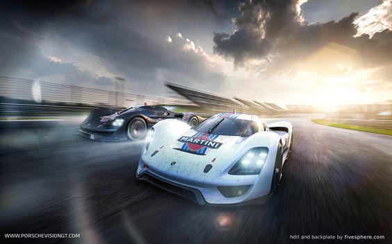 Alan Derosier - Transportation design: Porsche 908/04 Vision GT finally unveiled! www.porschevisiongt.com