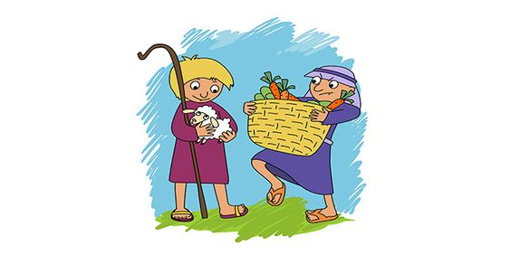 personajes biblicos para niños cain y abel - Buscar con Google