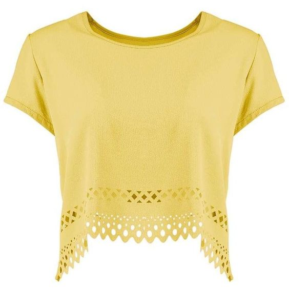 Sophie Cut Out Hem Woven Top ❤ liked on Polyvore featuring tops, beige top, woven top, cutout tops, cut out tops and baseball top