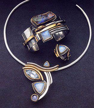 Barbara Bertagnolli Italian jewellery designer and goldsmith based