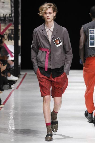 Robert Geller Spring/Summer 2017 Menswear Collection