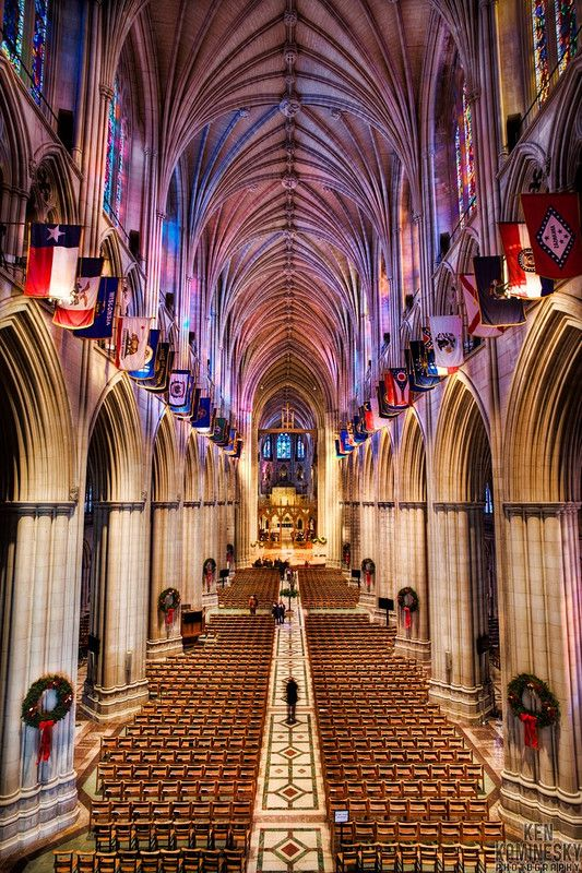 The Washington National Cathedral, officially named the Cathedral Church of Saint Peter and Saint Paul, is a cathedral of the Episcopal Church located in Washington, D.C., the capital of the United States.