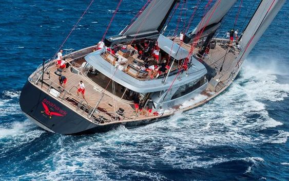 Luxus segelyachten  Perini Navi Bilder: Die größten Luxus-Segelyachten der Welt vor ...