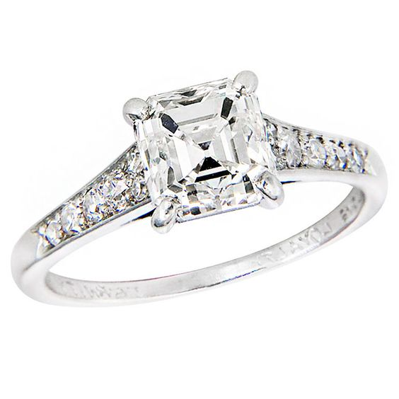 antique cartier engagement ring
