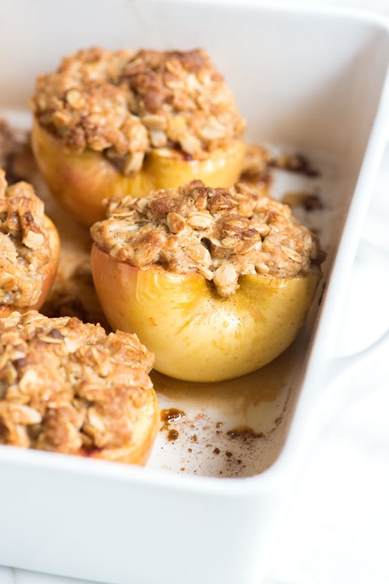 Easy Baked Cinnamon Apples | Recipe | Cinnamon apples, Apple recipes ...