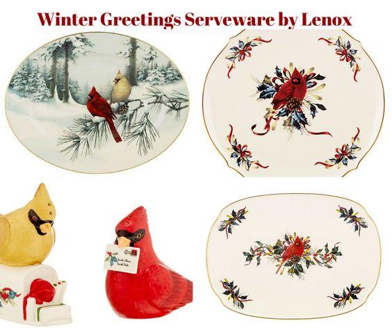 Winter Greetings Serveware by Lenox