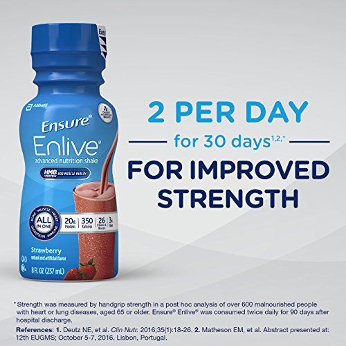 Ensure Enlive Advanced Nutrition Shake With 20 Grams Of High