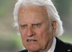 Billy Graham speaking in favor of NC Amendment #1