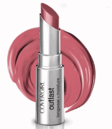 Covergirl - Outlast lipstick in Pink Pow 905