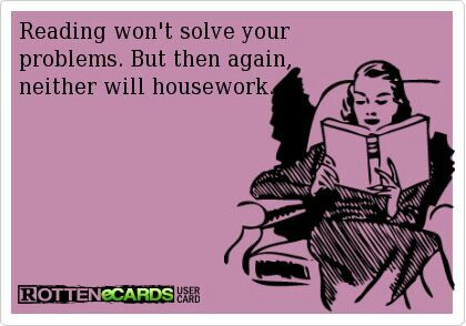 True. Although Saturday chores are calling.
