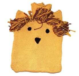 Organic Cotton Animal Hot Water Bottle Cover | Toto Knits Shop